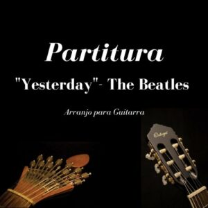 partitura-yesterday-the-beatles/